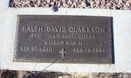 CLARKSON (VETERAN WWII), RALPH DAVID - Baca County, Colorado | RALPH DAVID CLARKSON (VETERAN WWII) - Colorado Gravestone Photos