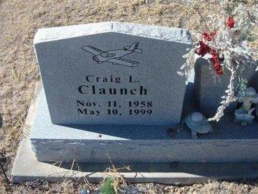 CLAUNCH, CRAIG LEE - Baca County, Colorado | CRAIG LEE CLAUNCH - Colorado Gravestone Photos