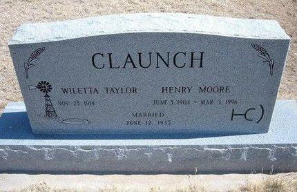 CLAUNCH, HENRY MOORE - Baca County, Colorado | HENRY MOORE CLAUNCH - Colorado Gravestone Photos