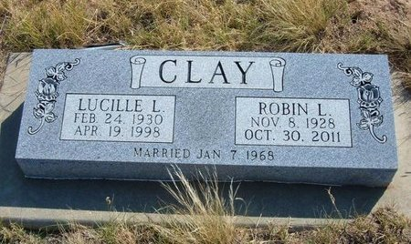 CLAY, LUCILLE L - Baca County, Colorado   LUCILLE L CLAY - Colorado Gravestone Photos