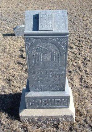 COBURN, GEORGE JOSEPH - Baca County, Colorado | GEORGE JOSEPH COBURN - Colorado Gravestone Photos