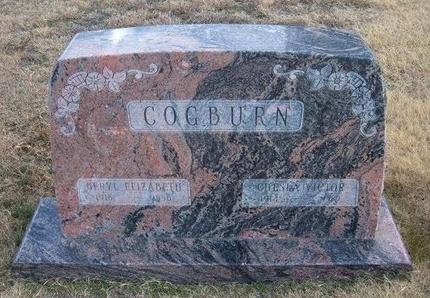 COGBURN, CHESLA VICTOR - Baca County, Colorado   CHESLA VICTOR COGBURN - Colorado Gravestone Photos