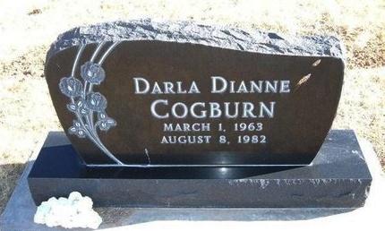 COGBURN, DARLA DIANNE - Baca County, Colorado | DARLA DIANNE COGBURN - Colorado Gravestone Photos