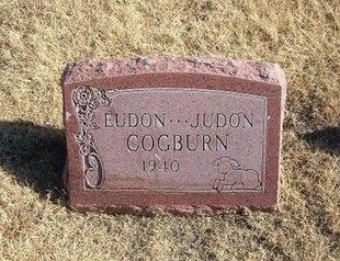 COGBURN, EUDON - Baca County, Colorado | EUDON COGBURN - Colorado Gravestone Photos