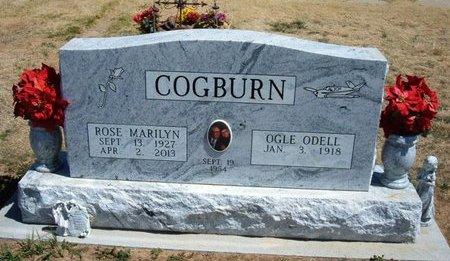 PORTER COGBURN, ROSE MARILYN - Baca County, Colorado   ROSE MARILYN PORTER COGBURN - Colorado Gravestone Photos