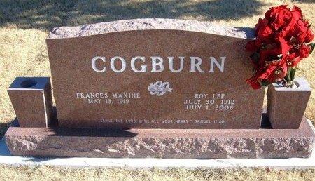 COGBURN, ROY LEE - Baca County, Colorado   ROY LEE COGBURN - Colorado Gravestone Photos