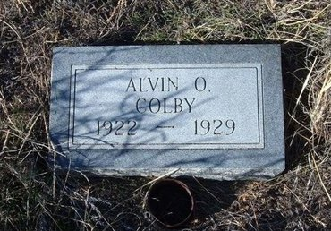 COLBY, ALVIN O - Baca County, Colorado | ALVIN O COLBY - Colorado Gravestone Photos