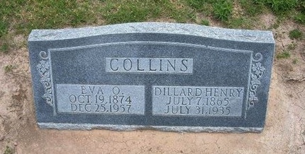 COLLINS, DILLARD HENRY - Baca County, Colorado | DILLARD HENRY COLLINS - Colorado Gravestone Photos