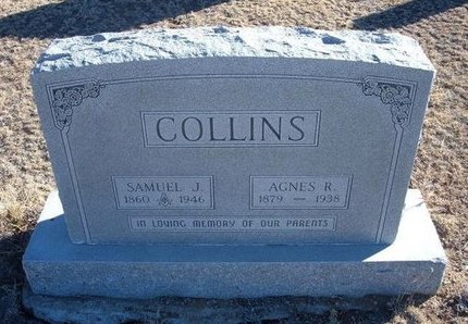 COLLINS, AGNES R - Baca County, Colorado | AGNES R COLLINS - Colorado Gravestone Photos