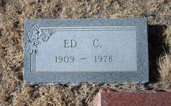 CONLEY, ED C - Baca County, Colorado | ED C CONLEY - Colorado Gravestone Photos