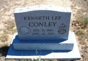 CONLEY, KENNETH LEE - Baca County, Colorado | KENNETH LEE CONLEY - Colorado Gravestone Photos