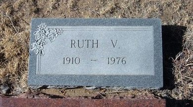 CONLEY, RUTH V - Baca County, Colorado | RUTH V CONLEY - Colorado Gravestone Photos