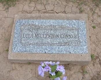 BROWN CONNER, LULA MCCLENDON - Baca County, Colorado | LULA MCCLENDON BROWN CONNER - Colorado Gravestone Photos