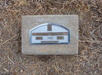 CONRAD, BELINDA - Baca County, Colorado   BELINDA CONRAD - Colorado Gravestone Photos
