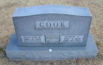 COOK, ELMER E - Baca County, Colorado | ELMER E COOK - Colorado Gravestone Photos