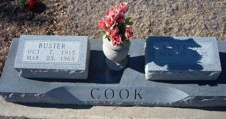 COOK, ELMER BUSTER - Baca County, Colorado | ELMER BUSTER COOK - Colorado Gravestone Photos