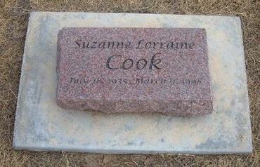 COOK, SUZANNE LORRAINE - Baca County, Colorado   SUZANNE LORRAINE COOK - Colorado Gravestone Photos