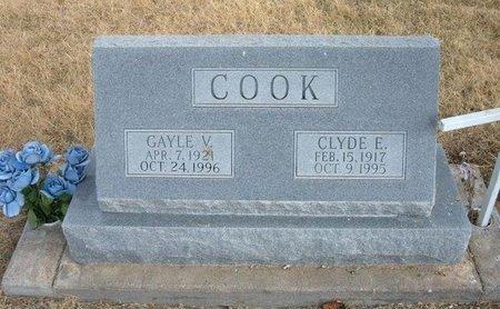 COOK, GAYLE V - Baca County, Colorado   GAYLE V COOK - Colorado Gravestone Photos