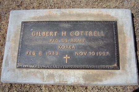 COTTRELL (VETERAN KOR), GILBERT H - Baca County, Colorado   GILBERT H COTTRELL (VETERAN KOR) - Colorado Gravestone Photos