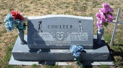 COULTER, DELBERT L - Baca County, Colorado | DELBERT L COULTER - Colorado Gravestone Photos