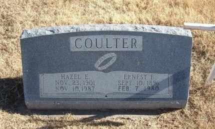 COULTER, HAZEL E - Baca County, Colorado | HAZEL E COULTER - Colorado Gravestone Photos