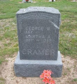 CRAMER, MARTHA A - Baca County, Colorado | MARTHA A CRAMER - Colorado Gravestone Photos