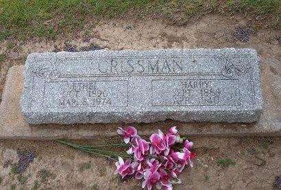 CRISSMAN, ETHEL K - Baca County, Colorado | ETHEL K CRISSMAN - Colorado Gravestone Photos