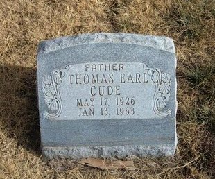CUDE, THOMAS EARL - Baca County, Colorado | THOMAS EARL CUDE - Colorado Gravestone Photos