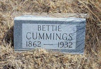 CUMMINGS, BETTIE - Baca County, Colorado | BETTIE CUMMINGS - Colorado Gravestone Photos