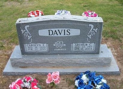 "DAVIS, ARTHUR CLARENCE ""ART"" - Baca County, Colorado 