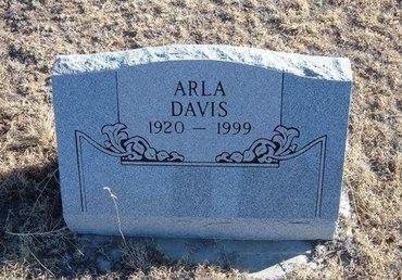 DAVIS, ARLA - Baca County, Colorado   ARLA DAVIS - Colorado Gravestone Photos