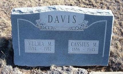 DAVIS, VELMA MARGARET - Baca County, Colorado | VELMA MARGARET DAVIS - Colorado Gravestone Photos