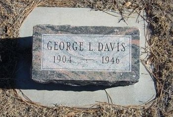 DAVIS, GEORGE LEVI - Baca County, Colorado | GEORGE LEVI DAVIS - Colorado Gravestone Photos