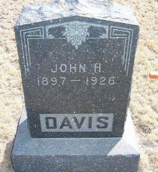 DAVIS, JOHN H - Baca County, Colorado | JOHN H DAVIS - Colorado Gravestone Photos
