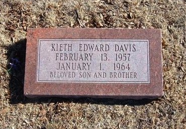 DAVIS, KEITH EDWARD - Baca County, Colorado | KEITH EDWARD DAVIS - Colorado Gravestone Photos