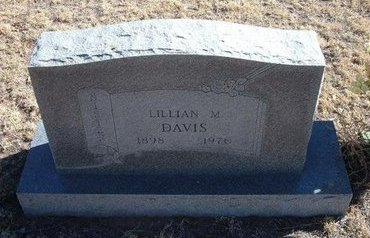 DAVIS, LILLIAN MAE - Baca County, Colorado | LILLIAN MAE DAVIS - Colorado Gravestone Photos