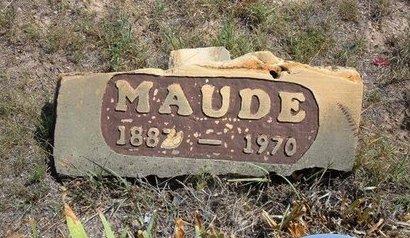 DAVIS, MAUDE - Baca County, Colorado | MAUDE DAVIS - Colorado Gravestone Photos