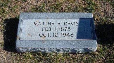 DAVIS, MARTHA A - Baca County, Colorado   MARTHA A DAVIS - Colorado Gravestone Photos