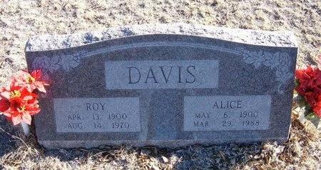 DAVIS, ROY EDWARD - Baca County, Colorado | ROY EDWARD DAVIS - Colorado Gravestone Photos