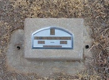DAVIS, TWINS - Baca County, Colorado   TWINS DAVIS - Colorado Gravestone Photos