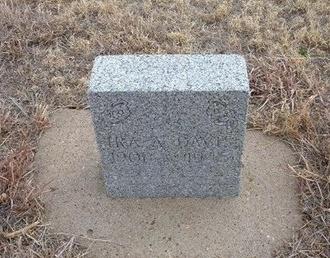 DAVIS (VETERAN WWII), IRA ALLEN - Baca County, Colorado   IRA ALLEN DAVIS (VETERAN WWII) - Colorado Gravestone Photos