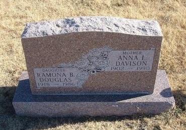 DAVISON, ANNA L - Baca County, Colorado | ANNA L DAVISON - Colorado Gravestone Photos