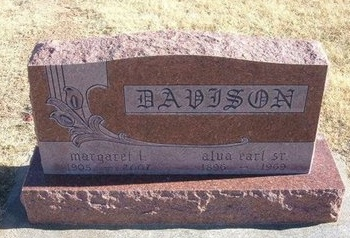 DAVISON, MARGARET LOUISE - Baca County, Colorado | MARGARET LOUISE DAVISON - Colorado Gravestone Photos