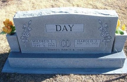 DAY, MILDRED L - Baca County, Colorado | MILDRED L DAY - Colorado Gravestone Photos
