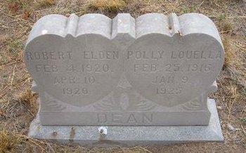 DEAN, POLLY LOUELLA - Baca County, Colorado | POLLY LOUELLA DEAN - Colorado Gravestone Photos