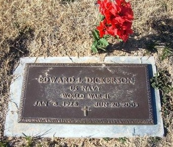 DICKERSON (VETERAN WWII), EDWARD L - Baca County, Colorado | EDWARD L DICKERSON (VETERAN WWII) - Colorado Gravestone Photos