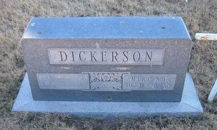 DICKERSON (VETERAN WWII), MERLIN GUY - Baca County, Colorado | MERLIN GUY DICKERSON (VETERAN WWII) - Colorado Gravestone Photos