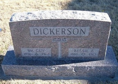 DICKERSON, BESSIE E - Baca County, Colorado | BESSIE E DICKERSON - Colorado Gravestone Photos