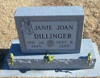 DILLINGER, JANIE JOAN - Baca County, Colorado | JANIE JOAN DILLINGER - Colorado Gravestone Photos