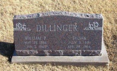 DILLINGER, WILLIAM P - Baca County, Colorado | WILLIAM P DILLINGER - Colorado Gravestone Photos